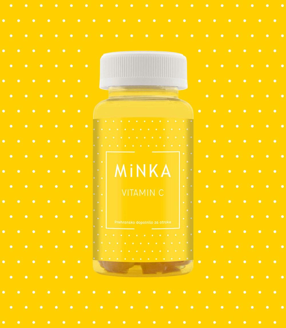 Minka C vitamin otroci bonboni