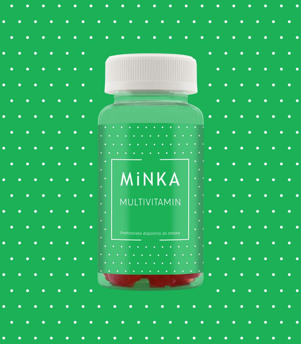 Minka Multivitamin otroci bonboni